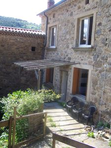 Photo for Holiday stone house 8km from St Félicien