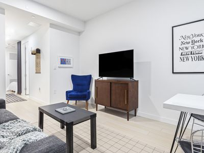 Photo for Sonder | Stock Exchange | Bright 1BR + Sofa Bed