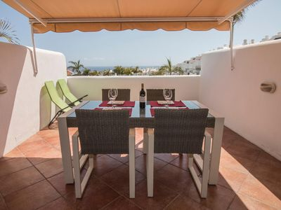 Photo for Duplex with beautiful sea views in a luxury complex!