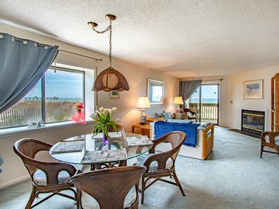 Photo for 2 Bedroom  Oceanfront Condo Sleeps 4