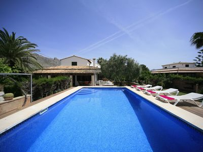 Photo for 4 bedroom Villa, sleeps 8 in Port de Pollença with Pool, Air Con and WiFi
