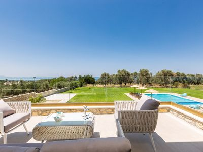 Photo for Brand new villa, amazing sea views, total privacy, 65m2 pool, close to amenities