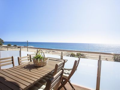 Photo for Pineda Beach 2 apartment in Pineda de Mar with WiFi, air conditioning & balcony.