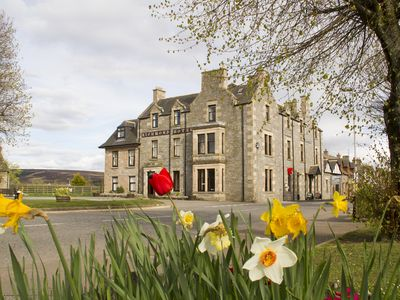 Photo for Substantial Highland hotel in the Village of Tomintoul