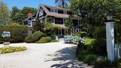 Photo for Historic Elegance in Southampton For 20 Guests at a 200-Year-Old Former B&B w/ Saltwater Pool
