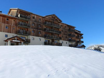 Photo for Surface area : about 31 m². 2nd floor. Orientation : South. View ski slopes and mountain