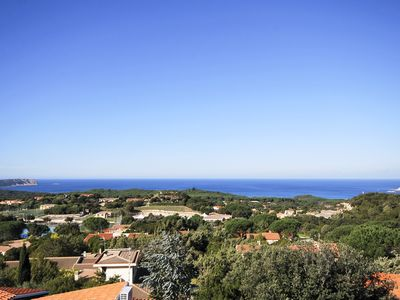 Photo for apartment with magnificent sea view, Rena Majore (residence with swimming pool)