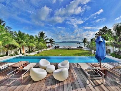 Photo for Luxurious Beachfront Penthouse ,Spectacular views / design, 2 bedrooms/ 2baths