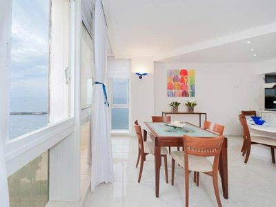 Photo for Panoramic Apartment Hope, with sea view, 1 bedroom, 5 sleeps