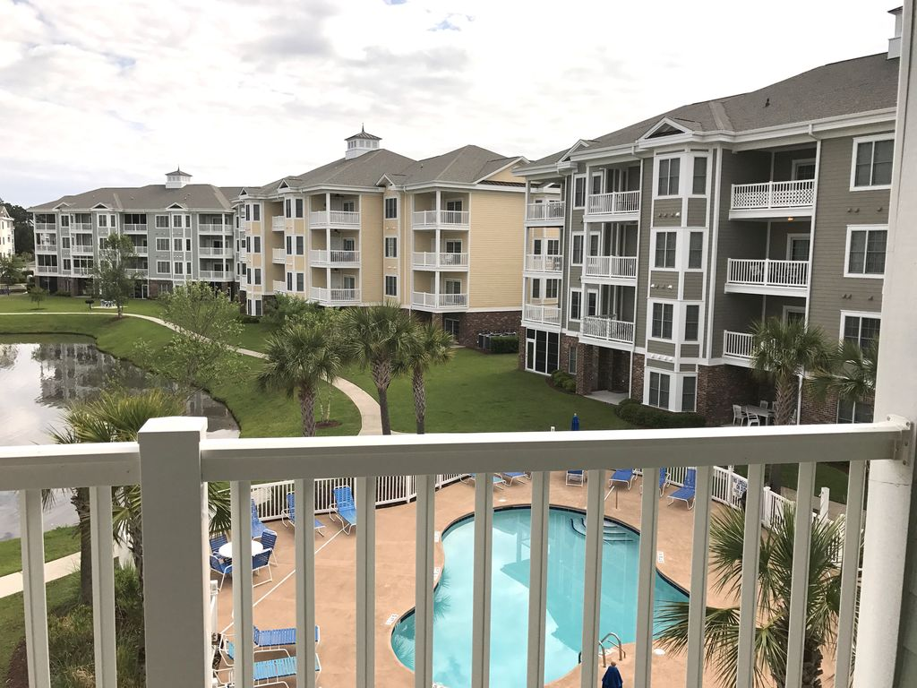 2 Bedroom Condo Outdoor Swimming Pool Elevator Washer Dryer Golf Wifi Myrtle Beach