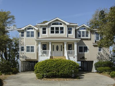 Photo for Sounds Best: 5 BR / 4 BA house in Corolla, Sleeps 10