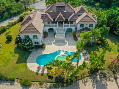 Photo for GREAT GOLF & OCEAN VIEW VILLA W/ POOL, JACUZZI & MAID – 500 FT. FROM THE BEACH