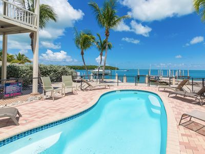 Photo for Bayside 3BR/3BA w/ Heated Pool, Dock Access, Rooftop Terrace & Stunning View
