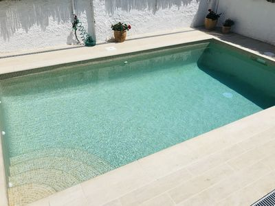 Photo for BEACH HOUSE WITH POOL 5 min walk from the beach