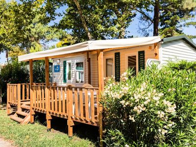 Photo for Camping La Chapelle **** - 4-room air-conditioned Villa mobile home 6 people
