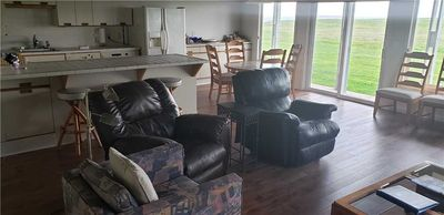 Photo for Ocean front 2 bedroom condo. Pet friendly unit. Walk right out the door to the beach