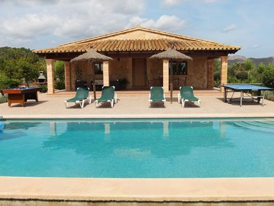 Photo for Beautiful villa for 4 people with private pool and jacuzzi