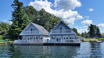Photo for Lighthouse Cottage - This cottage is floating in the Heart of the 1000 Islands