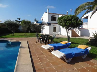 Photo for Comfortable villa for 6 people FREE WIFI, with large garden, pool and private parking,