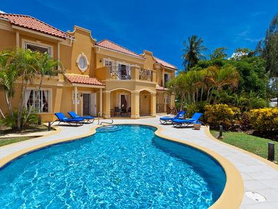 Photo for Luxury 4 bedroom villa located just a short walk from Mullins Bay Beach in Barbados