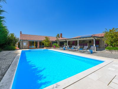 Photo for Stone Villa Pequena Perla, in Dalmatia,with a Pool