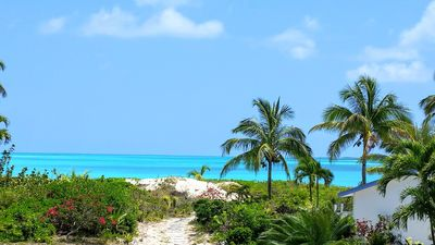 """Photo for """"Da Green Dolphin"""" Oceanfront Townhouse, Treasure Cay  """"Your Personal Paradise"""""""