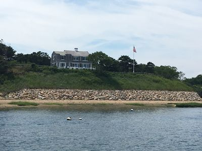 Photo for Beachfront Nantucket style home with amazing views on 3 acre estate setting