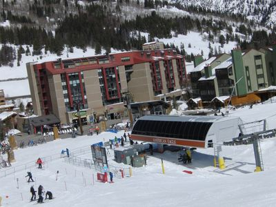 Mountain Plaza and American Eagle Lift