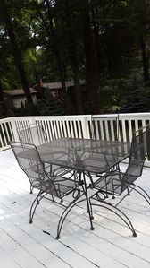 Dining on the deck New in 2018