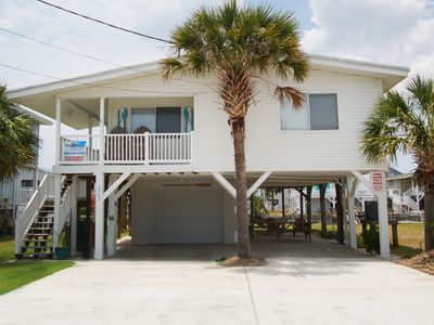 Photo for FLIP FLOPS & FLOUNDERS, a three-bedroom waterfront home in Cherry Grove