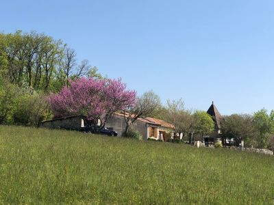 Photo for In the middle of nature comfortable 2 bedroom farm-house with beautiful pool