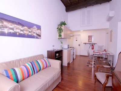 Photo for Monticelli Viola comfortable with 2 bedrooms in Campo dei Fiori
