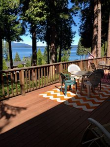 Photo for 'BOBBY'S LAKE BREEZE CABIN' - Enjoy the views, the breeze, and the serenity