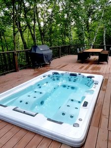Photo for Private Ski Lodge with Giant Hot Tub Less Than Two Miles to Sugarbush!