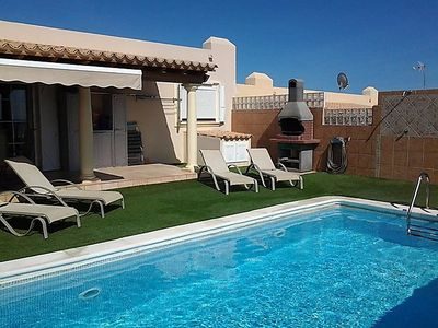Photo for 2 bedroom Villa, sleeps 4 in La Guirra with Pool and WiFi