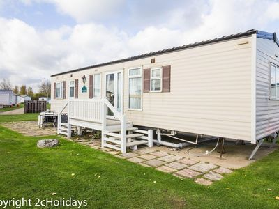 Photo for Cheap dog friendly caravan for hire at Haven Hopton in Norfolk  ref 80015