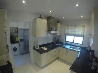 Fully fitted kitchen with separate utility room