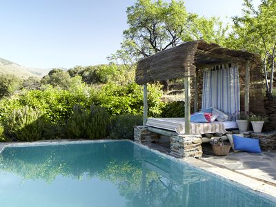 Photo for Secluded Secluded Stone Cottage with Pool in the Sierra Nevada Natural Park