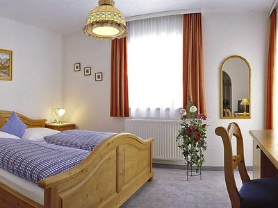 Photo for Double room with shower, WC - Haus Gletscherblick