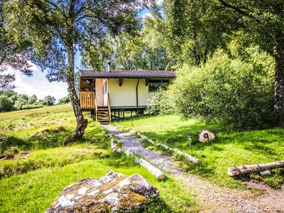 Photo for Ancarraig Lodges Above Loch Ness - Pet Friendly with Log Burner