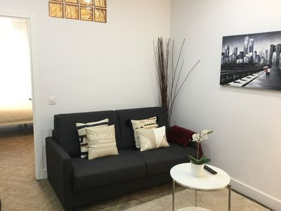 Photo for Central apartment. Modern and beautiful. Wifi. Madrazo 2 by Forever Rentals