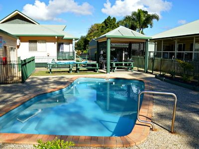 Photo for San Marco Villa 5 - Burrum Heads- Beachfront - 2BR - Pool- Aircon