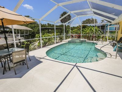 Photo for Stunning North end Ranch Home with Private Pool & Hot Tub just Steps To the Beach