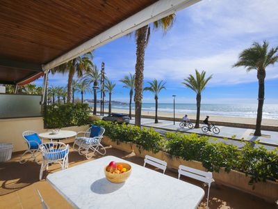 Photo for PISCIS frontbeach apartment, only for families