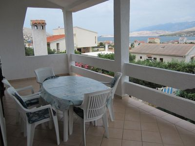 Photo for Apartment Mate  A2(4+1)  - Pag, Island Pag, Croatia