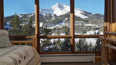 Photo for SPECTACULAR VIEW of Big Sky-Hot Tub & Fireplace-1/2 Mile on Free Shuttle to Mtn.