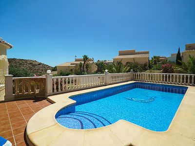 Photo for Vacation home Farniente in Moraira - 4 persons, 2 bedrooms
