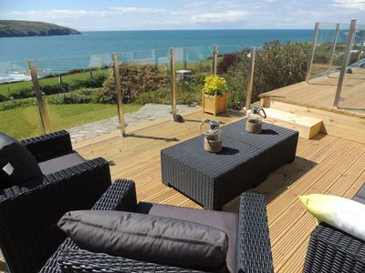 Photo for 3-bed holiday cottage with spectacular sea views
