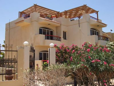 Photo for Large villa directly on the Red Sea