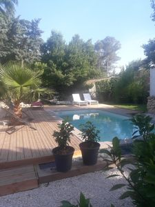 Photo for beautiful holiday Mazet with swimming pool close to the Roman city